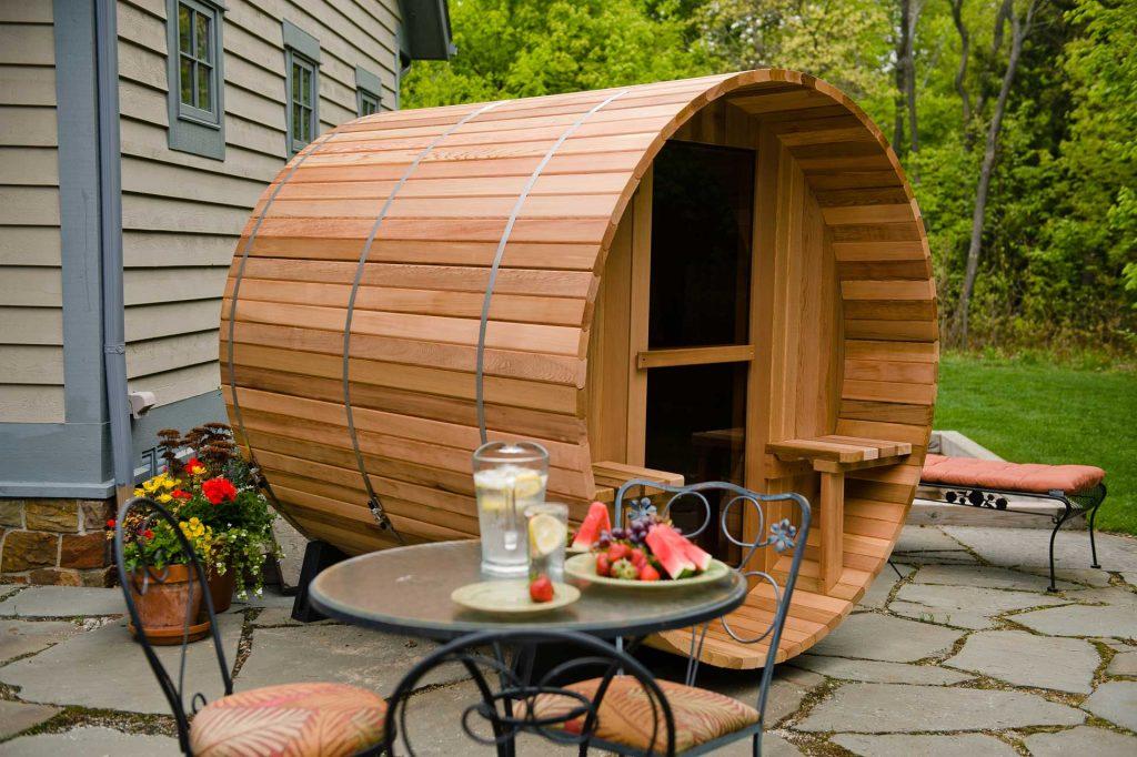 Achat sauna en bois Suisse