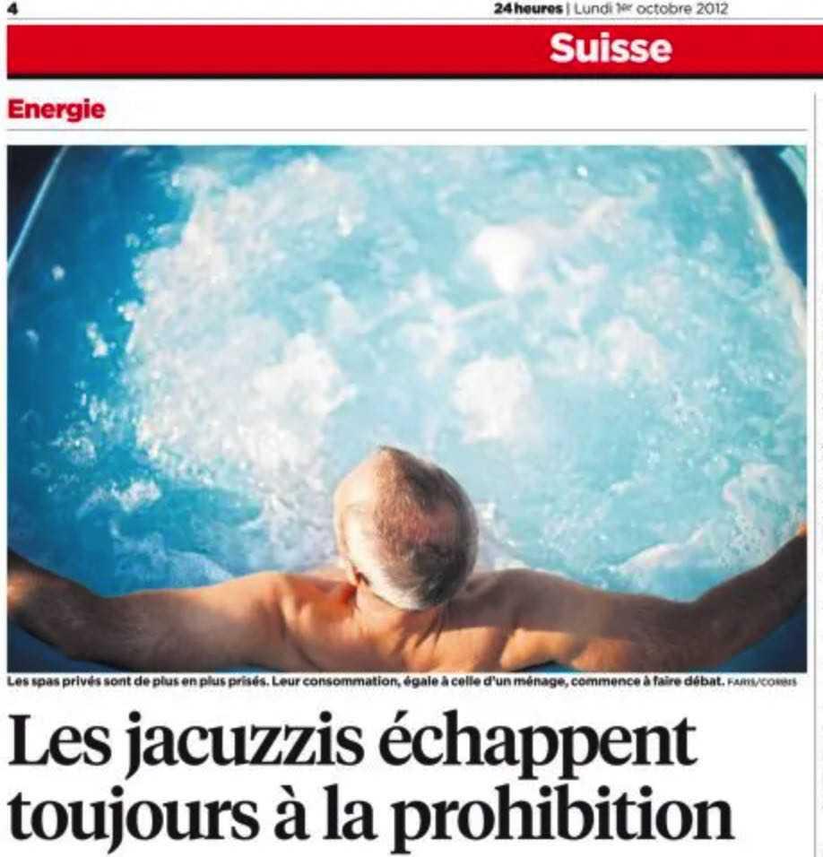 Dspas article 24heures Suisse