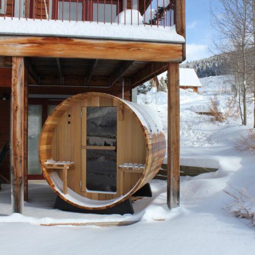 sauna neige 2