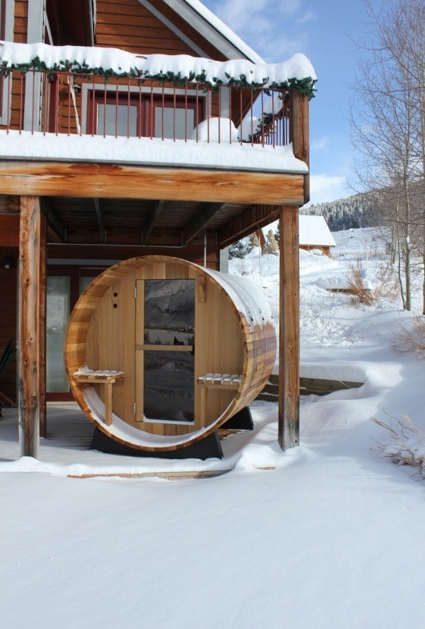 Dspas sauna neige 2
