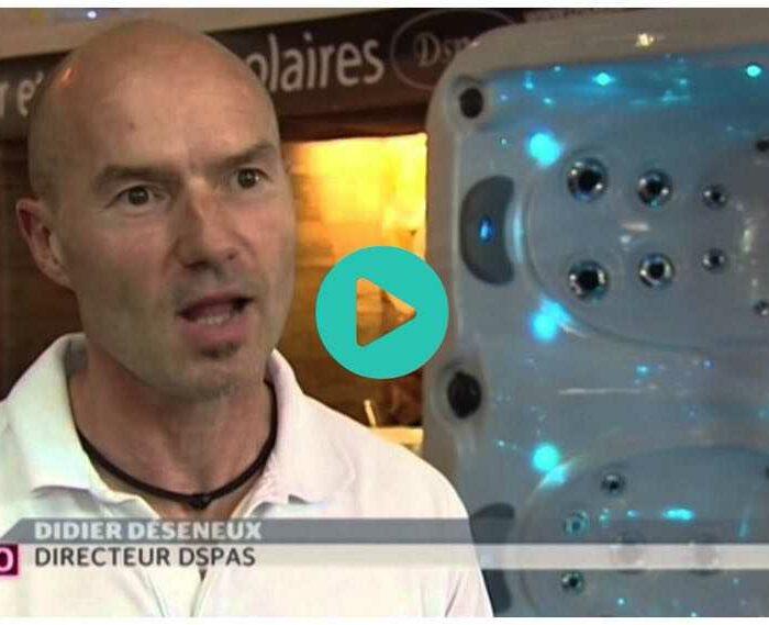 Reportage TSR : Dspas.ch pionnier des spas avec pompe à chaleur
