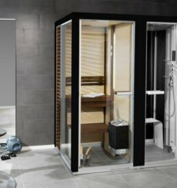 Tylo Helo Sauna/hammam Impression Twin