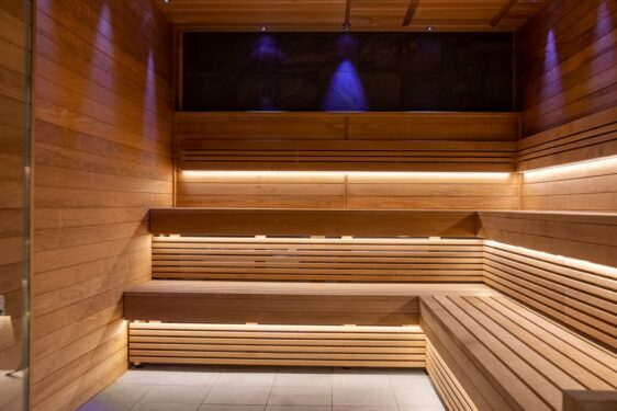 Intérieur sauna Tylö