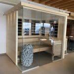 Sauna combiné infrarouge d'occasion