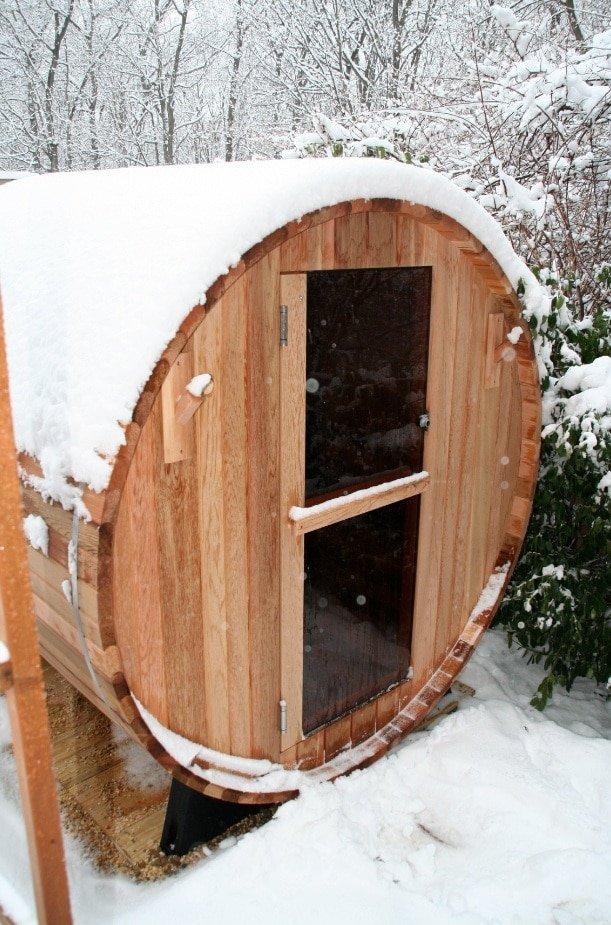 Barrel-6ft-Snow