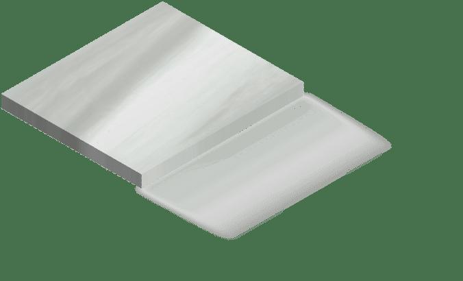 Couleur spa blanc marbre