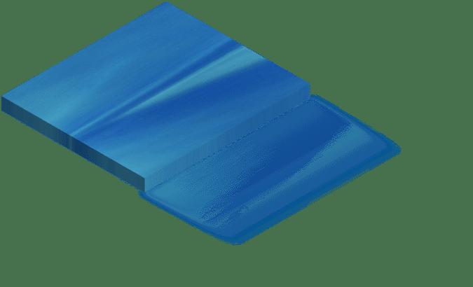 Couleur spa bleu ocean