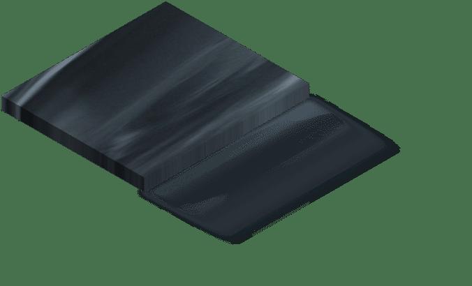 Couleur spa noir opal