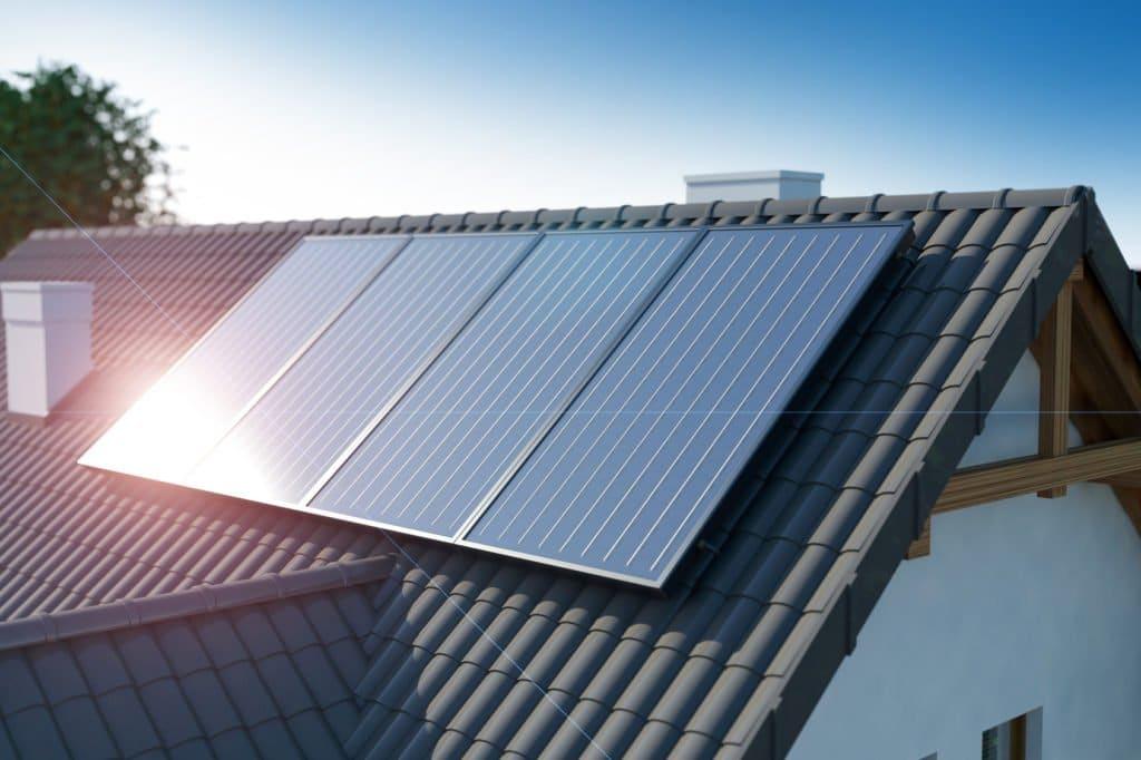 panneaux solaires pour spa