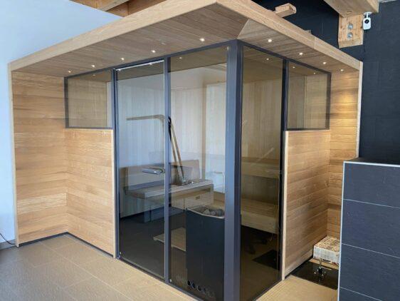 Sauna Tylö Panorama modele d'exposition