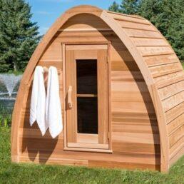 Sauna exterieur Leisure POD Mini