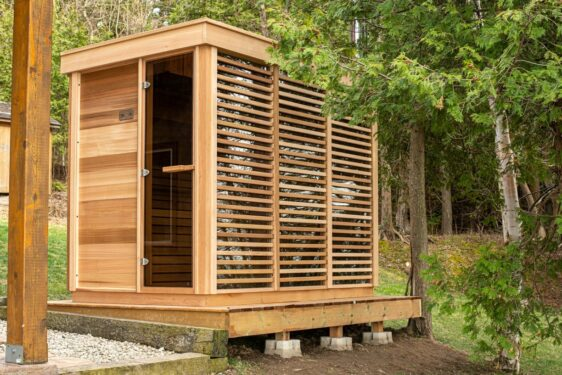 Achat sauna en bois