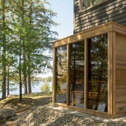 Sauna exterieur Pure Cube Outdoor CU580