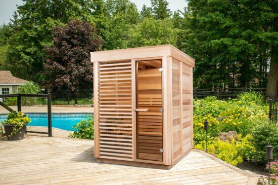 Sauna exterieur Pure Cube Outdoor