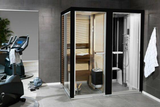 Cabine de Sauna Tylö Harmony noir