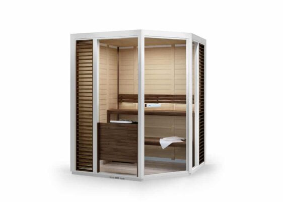 Sauna Tylö Impression Corner blanc