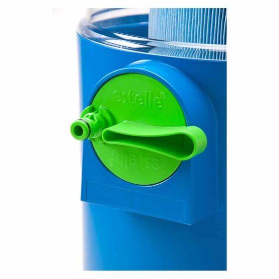 Estelle nettoyeur filtre spa, bouton