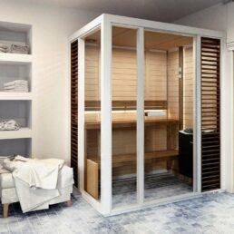 Sauna Tylö Impression Twin blanc