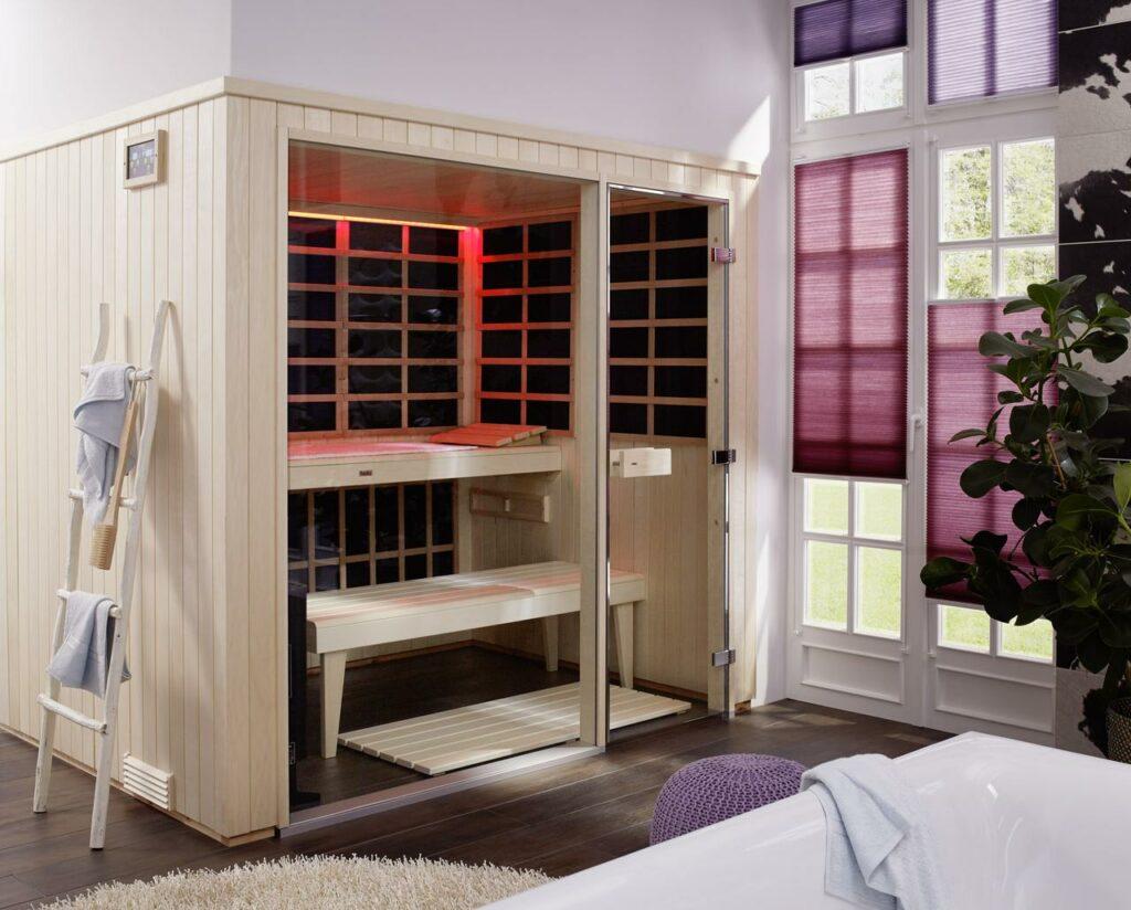 chaleur sauna infrarouge