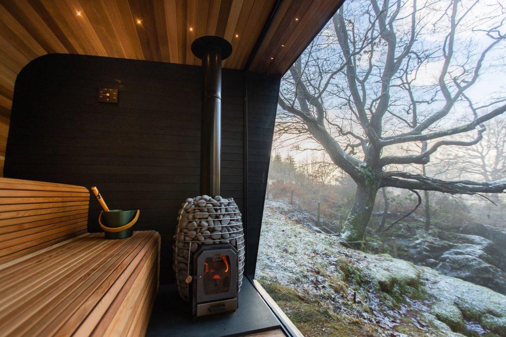 Poele sauna à bois Huum Heat