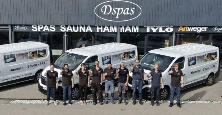 l'équipe Dspas